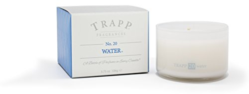 - Trapp Ambiance Collection No. 20 Water Poured Scented Candle, 3.75-Ounces