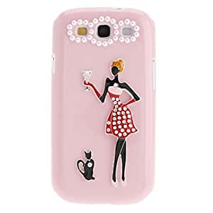 LIMME-3D Design Beauty Hard Case for Samsung Galaxy S3 I9300