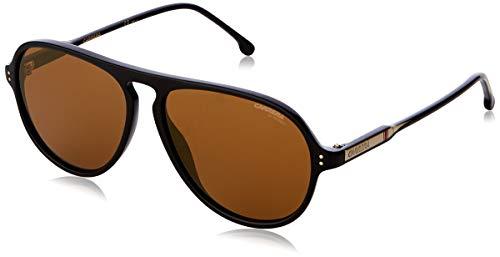 Carrera CARRERA 198/S 807 Black CARRERA 198/S Pilot Sunglasses Lens Category 3 (Carrera Marke)