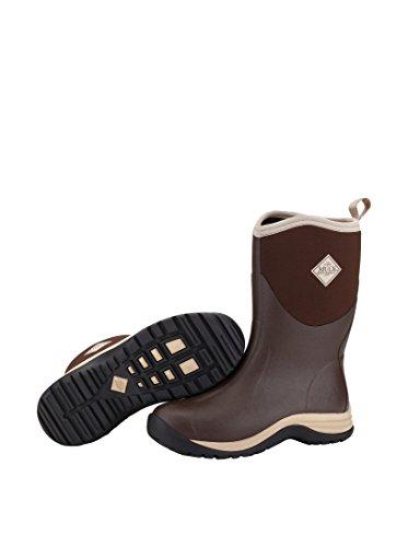 MUCK Boot Men's Arctic Commuter Snow Boots, Brown Rubber,...