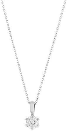 MATY - 0551261 - Collier argent 925 zirconia Swarovski: Amazon.fr ...