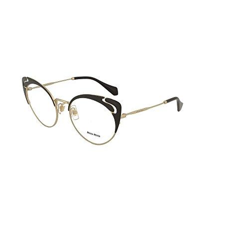 Gafas Vista Miu De Black 50r Evolution Mujer Vmu Noir dOO7xH