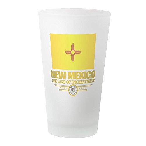 (CafePress New Mexico Flag Pint Glass, 16 oz. Drinking Glass)