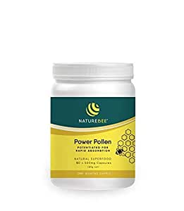 Amazon.com: NatureBee Potentiated Power Pollen 60 Capsules