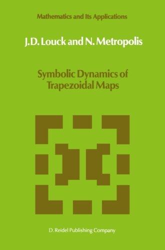 Symbolic Dynamics of Trapezoidal Maps (Mathematics and Its Applications)