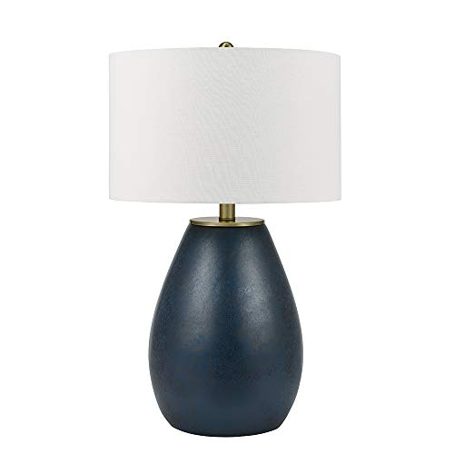 Catalina Lighting 21751-000 Sponge Overlay Table Lamp, 30