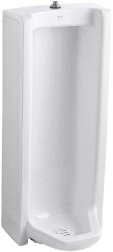 KOHLER K-4920-T-0 Branham Urinal, White (Branham Urinal)