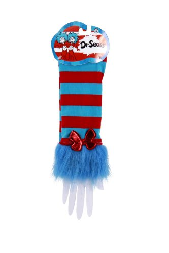 Dr. Seuss Thing 1 & Thing 2 Fuzzy Glovettes by elope (Thing One Thing Two Costume)