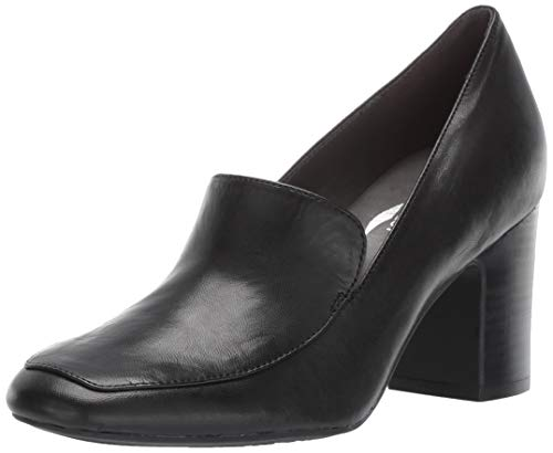 (Aerosoles Women's Tall Tale Pump, Black Leather, 12 M US)