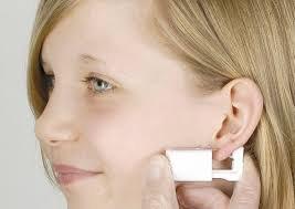 Personal at Home Ear Piercing Kit w/Gun & 4mm Stainless Steel Ball Earrings