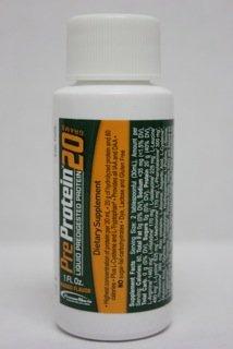 Pre-Protein 20 Mango 1 oz. Bottle - 60 ct. case