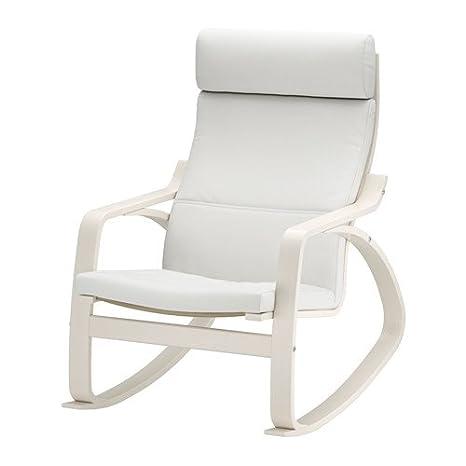 Ikea 14386.20118.48 - Sillón de balancín, Color Blanco ...