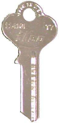 (Kaba Ilco T7-1141GE Ilco Taylor Lockset Key Blank - Quantity 10)