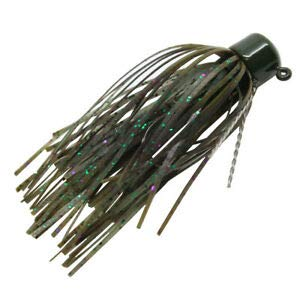 JumpingBolt Mfj18-04Pk2 Finesse Shroomz Micro Jig Lures 1/8 Oz Size Candy Craw Per 2 for Saltwater Freshwater Bass Kayak Ice Fishing