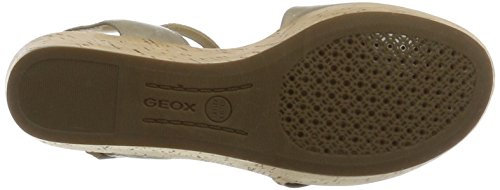 con D Sandalias Sakely Taupec6738 para a a Geox Lt Cu Beige Mujer xIdZqZ