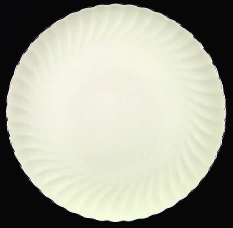 Sihouette Fine China By Syracuse Wedding Ring Dinner Plate