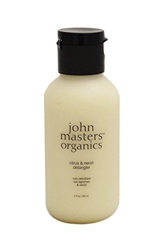 John Masters Organics - Citrus & Neroli Detangler - Light Conditioner Infused with Essential Oils - Nourish, Add Shine, & Volume to Hair - Travel Size - 2 oz