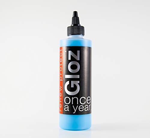8 Oz Patio Paint - GLOZ - The Permanent PROTECTANT — Restorer Plastic, and Vinyl, Renew Color, Prevents Tire Dry Rot – Weatherproof, UV Block, Dry-Seal – 8oz Kit