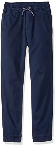 Gymboree Boys' Big Relaxed Fit Jogger, Navy, S from Gymboree