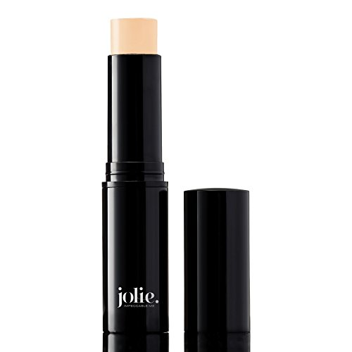 - Jolie Cosmetics Creme Foundation Stick Full Coverage Makeup Base (Tender Beige)