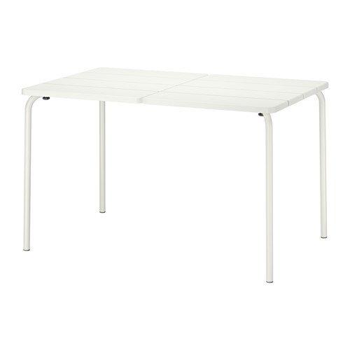 IKEA Table, outdoor, white 1826.172917.618 (White Table Ikea Folding)