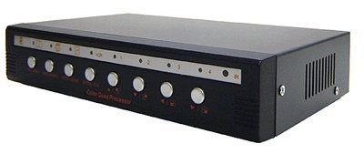 4-Channel CCTV Quad Video Processor With Audio Support from AllAboutAdapters