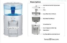 Dispensador Agua fria y natural con filtro depurador ecolojico Aquabages: Amazon.es: Hogar