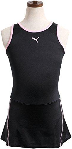 (プーマ)PUMA女の子用スクール水着【920030】130cmブラック