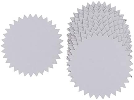 sharprepublic 丸型板紙 クラフト用紙 ペーパーボード DIY手作り 写真フレーム ハンドメイド 材料