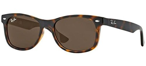 (Ray-Ban Junior Kids' 0rj9052s Wayfarer Sunglasses, Havana, 47 mm)