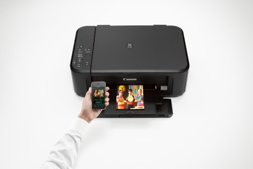 Canon PIXMA MG3520 Wireless Color Printer with Scanner and Copier by Canon (Image #1)
