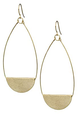 New! Shield Paddle Earring Lightweight Statement Earrings | SPUNKYsoul Collection