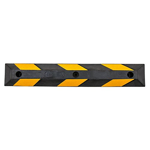 Guardian DH-PB-5 Heavy Duty Rubber Parking Curb-36 Long by Guardian (Image #4)