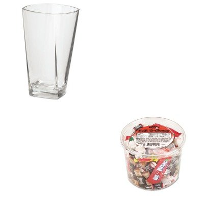KITOFX00013OSICPR16 - Value Kit - Everywhere Global Inc Cozumel Beverage Glasses (OSICPR16) and Office Snax Soft amp;amp; Chewy Mix (OFX00013)