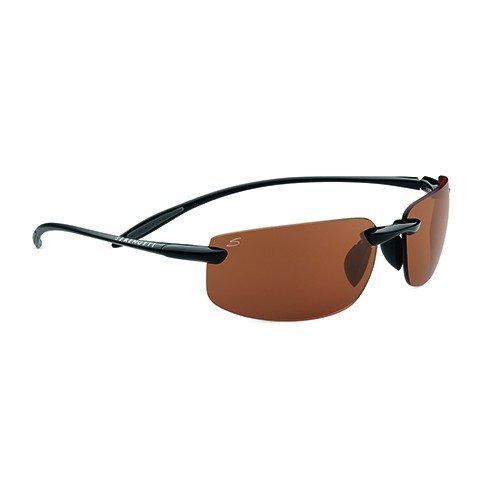 Serengeti Sport Lipari Sunglasses, Polar PhD Drivers, Shiny Black/Black - Serengeti Glasses