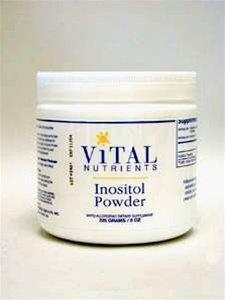 Nutriments vitaux 8oz poudre inositol. 225 grammes