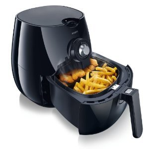 Philips Viva Airfryer - Black - HD9220/26 (Renewed)