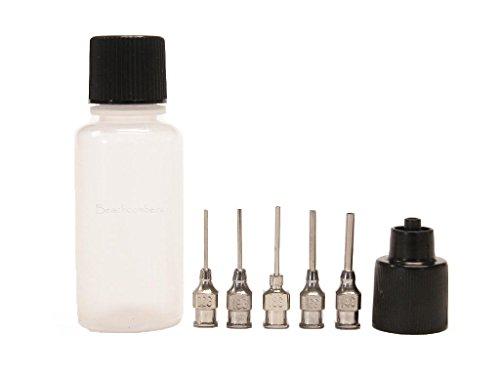 Soft Squeeze Art Craft Applicator Dispensing Syringe Bottles for Jagua Ink Glue, Henna, Paste, Paint