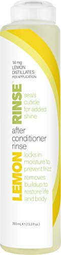 Lemon Rinse Anti Frizz Gentle Clarifying Hair Treatment Adds Shine and Maintains Healthy Scalp, 13.3 Fl ()