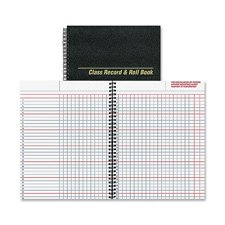 Class Record/Roll Book, 6/Day,40 Sheets, 11x8-1/2