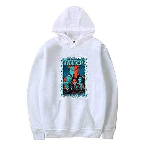 Pullover Side Unisexe Capuche Tunique Haut Riverdale Top Sweatshirt Blouse Serpent Color Pull Chemise Sweat 20 South Jumper Manteau Aibayleef A fE0waw