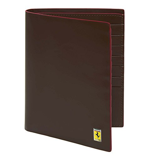 MenâÂÂs Ferrari Cavallino Rampante Pocket Wallet One size Black by Ferrari