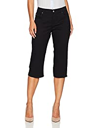 Women's Petite Relaxed-Fit Capri Pant