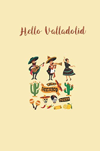 Hello Valladolid: Lined Premium notebook-Cuaderno inteligente ...