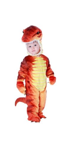 Orange Trex Costumes For Kids (T Rex Costume - Toddler (18-24 Mo))