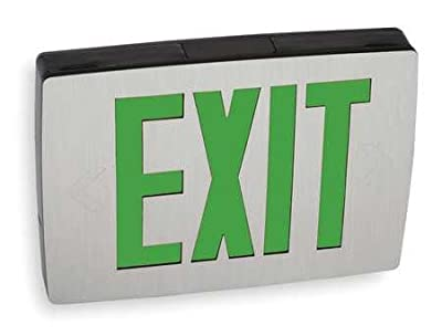 Exit Sign, 0.60W, Green, 1