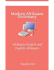 Modern Afrikaans Dictionary: Afrikaans-English and English-Afrikaans
