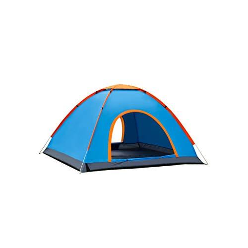 Jkl000 Zelt Im Freien, 2 Personen, Keine Notwendigkeit Zu Bauen, 2 Sekunden Automatische Geschwindigkeit Offen, Wasserdicht, UV-Schutz, Insektenschutz, Picknick-Strand-Campingpark