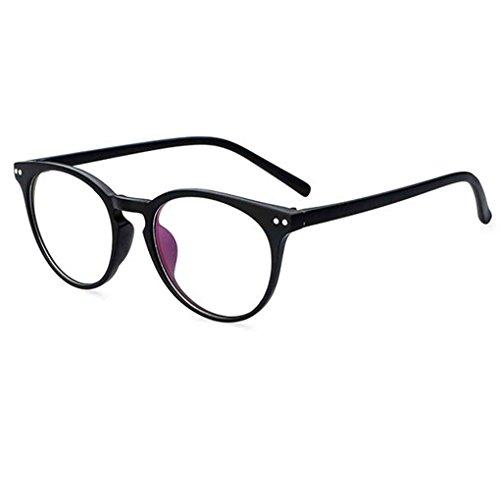 Unisex freie Plain Objektiv Schutz Brillen Retro UV400 Republe C2 runde Männer Brillen Brillen Glas Frauen 4ZwPq1dt