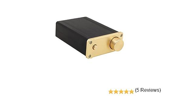 SMSL SA-50 D-AMP 2x50W TDA7492 estéreo de alta fidelidad del amplificador + adaptador de corriente: Amazon.es: Electrónica